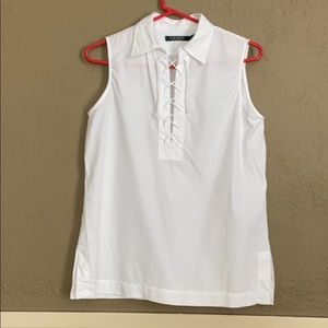 Ralph Lauren sleeveless Top